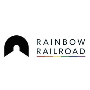 100% of proceeds donated to Rainbow Railroad